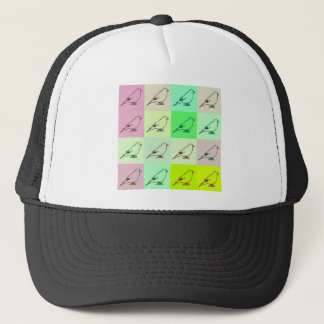 Canary Pop Art Trucker Hat