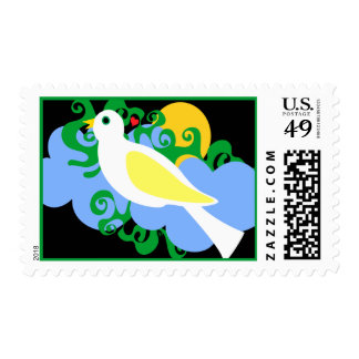 Canary Sunrise Stamps