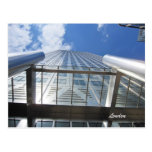 Canary Wharf 1 Canada Square skyscraper Postcard
