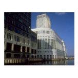 Canary Wharf building, London, England, U.K. Postcards