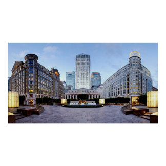 canary_wharf_england 2 poster FROM 8.99