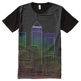 Canary Wharf - London All-Over-Print T-Shirt