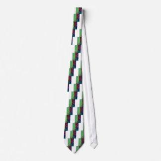 Canary Wharf London Art Tie