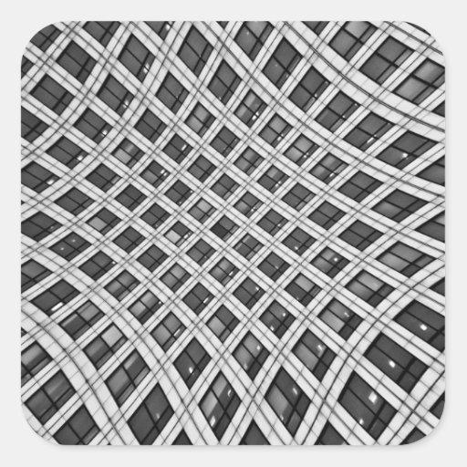 Canary Wharf London Square Sticker