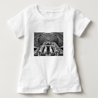 canary wharf tube station baby romper