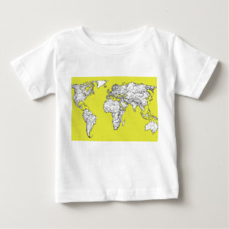 canary yellow atlas diagram baby T-Shirt