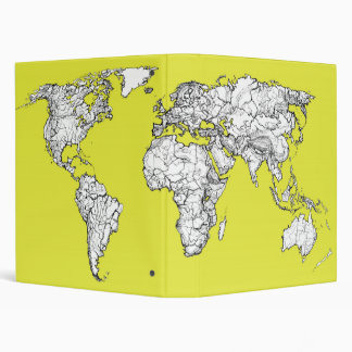 canary yellow atlas diagram binder