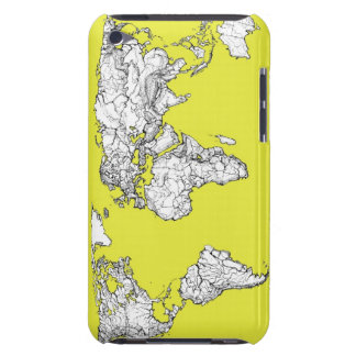canary yellow atlas diagram barely there iPod cases