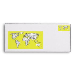 canary yellow atlas diagram envelope