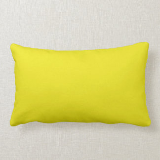 Canary Yellow Bright Fashion Color Trend 2014 Pillows