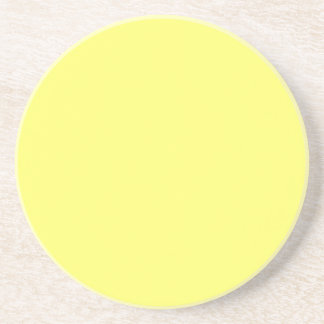 Canary Yellow Drink Coaster