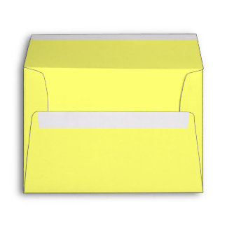 Canary Yellow Envelopes