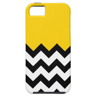 Canary Yellow Pattern On Large Zigzag Chevron iPhone SE/5/5s Case