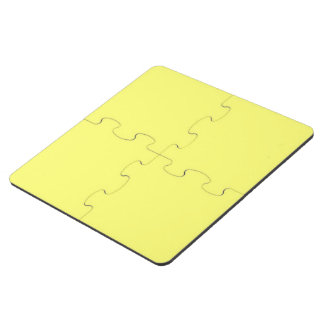 Canary Yellow Puzzle Coaster