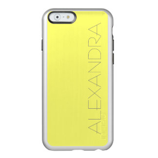 Canary Yellow Solid Color Incipio Feather Shine iPhone 6 Case