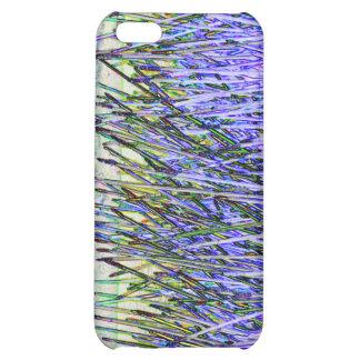 Cañas abstractas en colores púrpuras y blancos