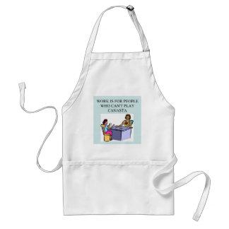 canasta beats work adult apron