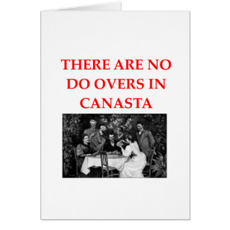 CANASTA CARD