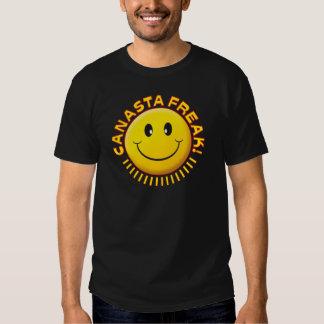Canasta Freak Smile Tee Shirt