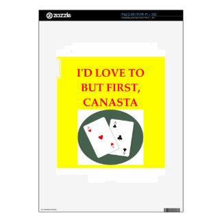 CANASTA iPad 2 SKINS