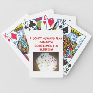 canasta joke 3 card decks