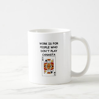 canasta joke 7 mug