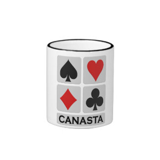 Canasta mug - choose style & color
