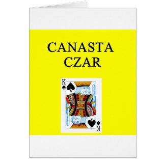 CANASTA player Card