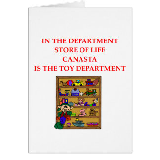 CANASTA player gifts t-shirts Card