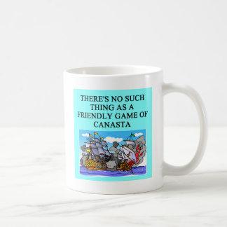 CANASTA player gifts t-shirts Coffee Mugs