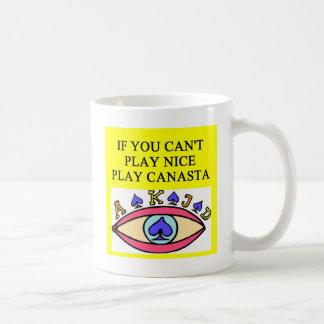 CANASTA player gifts t-shirts Mugs