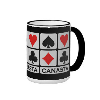 Canasta Player mug - choose style & color