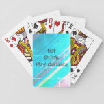 "Canasta Playing Cards<br><div class=""desc"">Eat Drink Play Canasta</div>"