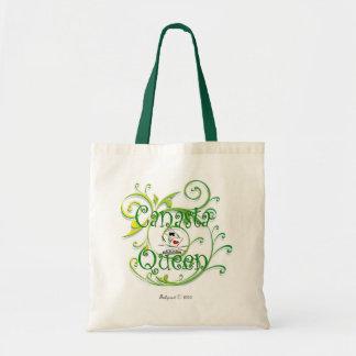 Canasta Queen Budget Tote Bag