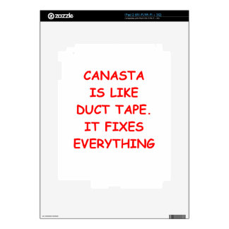 canasta skins for the iPad 2