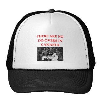CANASTA TRUCKER HAT