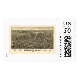 Canastota, NY Panoramic Map - 1885 Postage