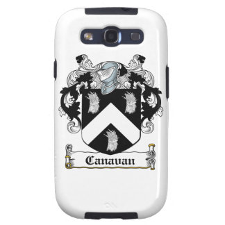 Canavan Family Crest Samsung Galaxy S3 Cover