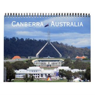 canberra 2018 calendar