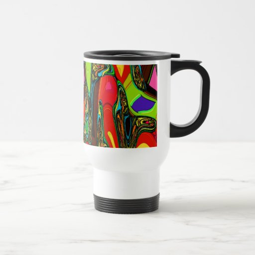Canberra Abstract Gifts Travel Mug