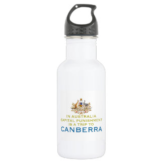 Canberra...Capital Punishment. Water Bottle