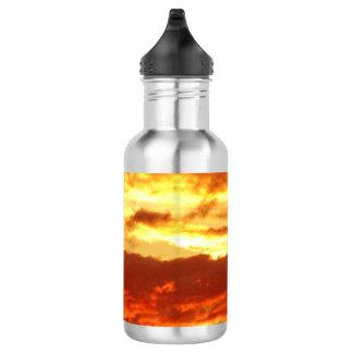 Canberra Summer Sunset Water Bottle
