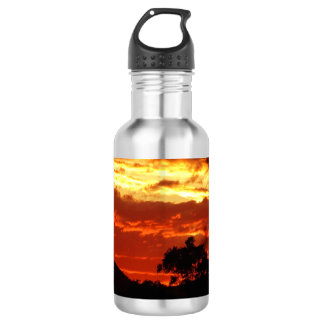 Canberra Summer Sunset Water Bottle