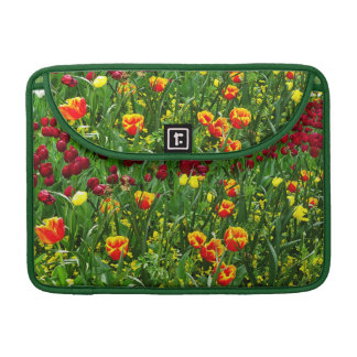 Canberra Tulips Sleeve For MacBooks