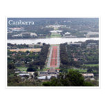 canberra view postcard