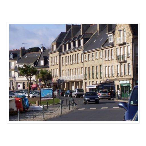 Cancale, Bretaña, Francia Tarjeta Postal
