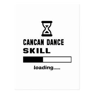 Cancan dance skill Loading...... Postcard