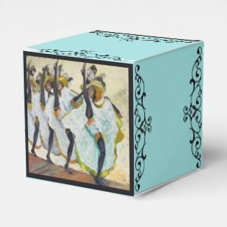 Cancan Dancers Favor Box