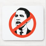Cancel Obama T-shirt Mouse Pad