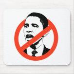 Cancele la camiseta de Obama Tapetes De Ratones